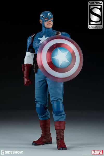 Captain America Sixth Scale Figure (Sideshow Collectibles)