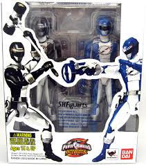 Blue & Black Overdrive Rangers Power Rangers Operation Overdrive