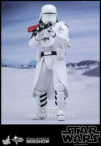 First Order Snow Trooper Officer - Episode VII: The Force Awakens - Sixth Scale Figure Hot Toys