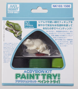 Acrysion Kit Paint Try! *Frog*