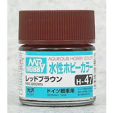 Aqueous Hobby Color - H47 Gloss Red Brown (Primary)