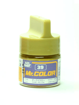 Mr. Color 39 Dark Yellow (Sandy Yellow) 3/4 Flat