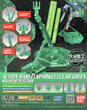 Action Base #1 - Sparkle Clear Green