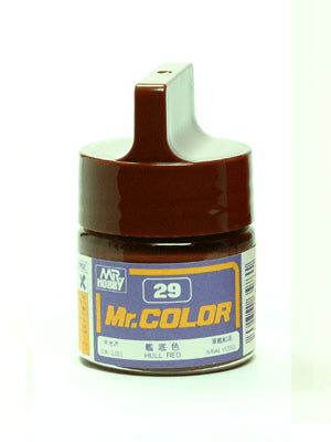 Mr. Color 29 Hull Red Semi Gloss