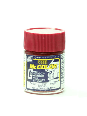 Mr. Color CG22 Red 2 Semi Gloss