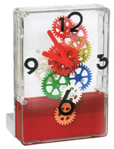 Multi-Color Desktop Clock Red