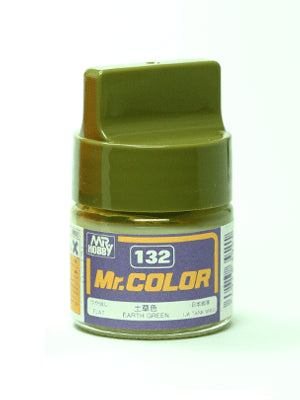 Mr. Color 132 Earth Green Flat