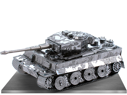Tiger I Tank 3D Laser Cut Models