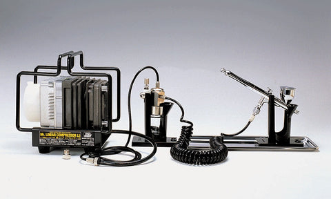 Mr. Linear Compressor L5 / Airbrush Set 2 Mr. Hobby
