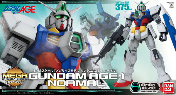 Gundam AGE-1 Normal 1/48 Megasize