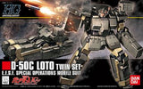 HGUC 1/144 #106 D50C LOTO Twin Set