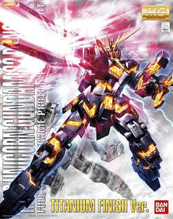 MG 1/100 Unicorn Gundam 02 Banshee Titanum Finish Ver.
