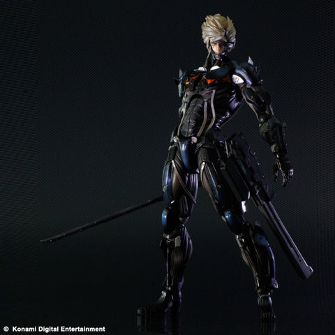 Raiden Metal Gear Rising: Revengeance Play Arts Kai