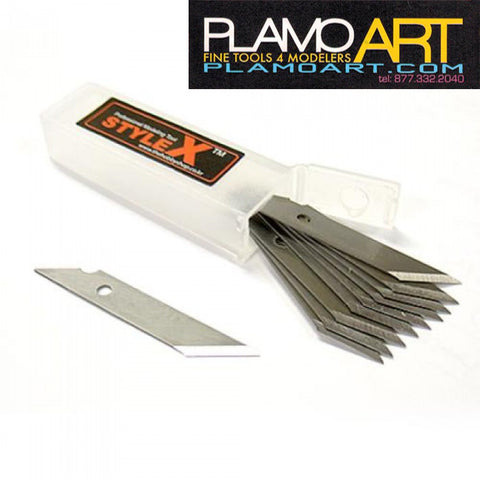 Design Knife Blade 12P PLAMO ART