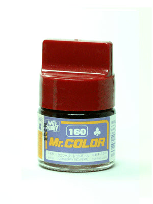 Mr. Color 160 Cranberry Red Pearl Mica