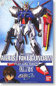 #01 Aile Strike Gundam (MG 1/100)