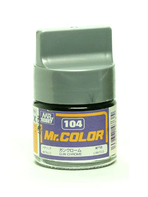 Mr. Color 104 Gun Chrome Metallic