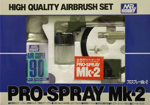 Mr. Pro-Spray Mk-2 Airbrush Set   Mr. Hobby