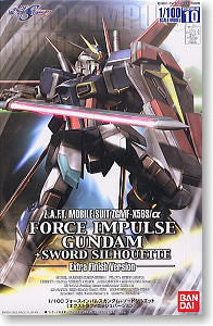 NG 1/100 Force Impulse Gundam + Sword Silhouette Extra Finish