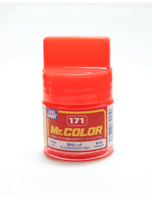 Mr. Color 171 Fluorescent Red Flat