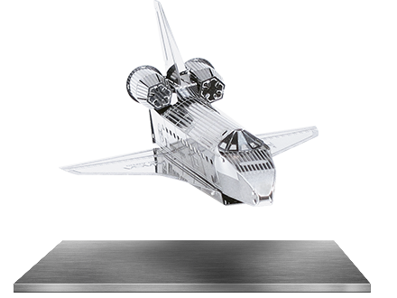 Space Shuttle Discovery 3D Laser Cut Model