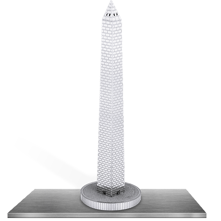 Washington Monument 3D Laser Cut Model
