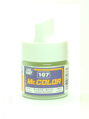 Mr. Color 107 Character White Semi Gloss
