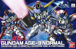 #372 Gundam AGE-3 Normal/Orbital/Fortress SD