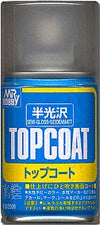 Mr. Top Coat Semi Gloss Mr.Hobby