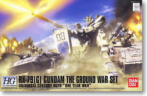 RX-79G Gundam The Ground War Set 1/144 HGUC Hardgraph