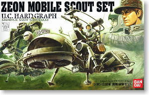 Zeon Mobile Scout Set 1/35 UC Hardgraph