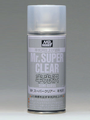 Mr. Super Clear Semi Gloss Mr.Hobby