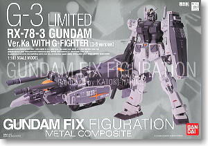 RX-78-3 Gundam Ver.Ka With G-Fighter (G-3 Version) FIX Metal Composite