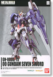00 Gundam Seven Sword Metal Build 1/100