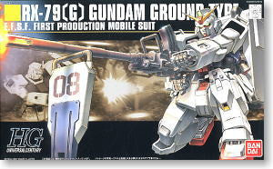 #79 Gundam Ground Type 1/144 HGUC