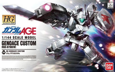 HG 1/144 Genoace Custom Wolf Eniacl Use