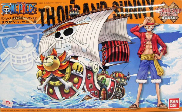 #01 Thousand Sunny Grand Ship Collection ONE PIECE