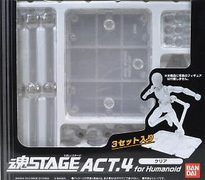 Tamashii Stage Act 4 for Humanoid (3-in-1 Clear)