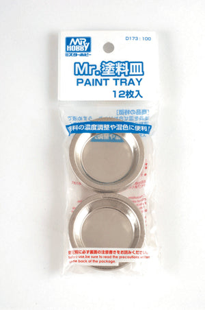 Mr. Paint Tray 10pcs Mr.Hobby