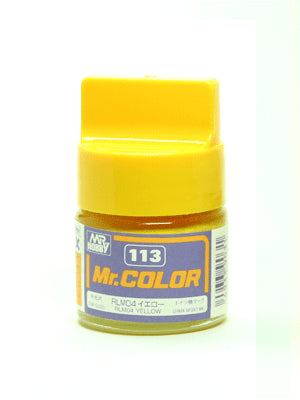 Mr. Color 113 RLMO4 Yellow Semi Gloss