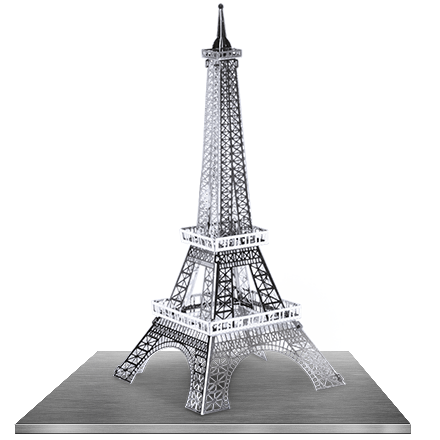 Eiffel Tower 3D Laser Cut Model