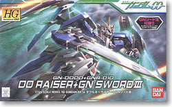 #54 00 Raiser+GN Sword III 1/144 HG 00