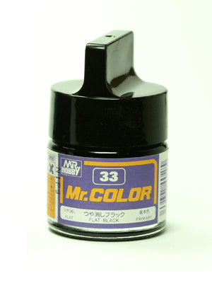 Mr. Color 33 Black Flat