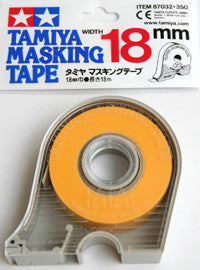 18mm Masking Tape with Dispenser TAMIYA