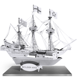 Golden Hind 3D Laser Cut Model