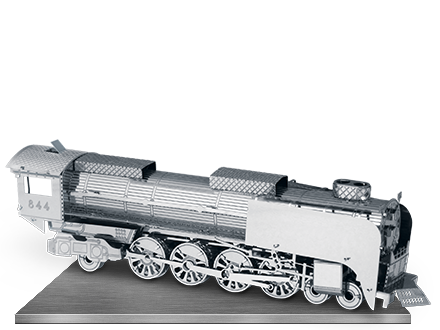 Steam Locomotive 3D Laser Cut Model