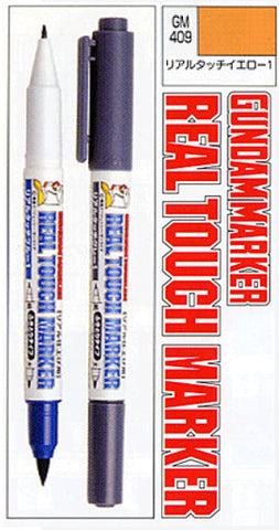 Real Touch Marker Yellow GM409