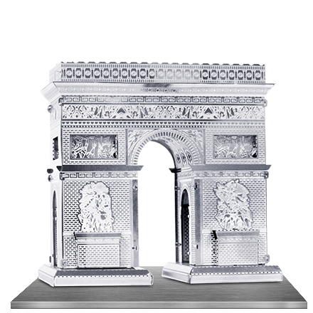Arc De Triomphe 3D Laser Cut Model