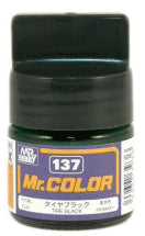 Mr. Color 137 Tire Black  Flat