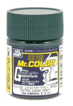 Mr. Color CG102 Extra Dark Grey Semi Gloss